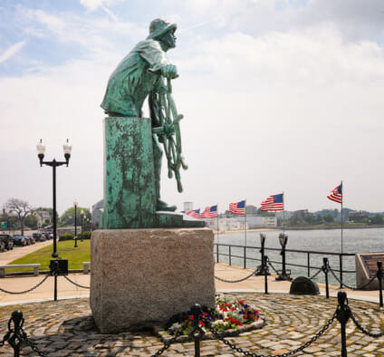 Fishermen's Memorial, Gloucester, MA